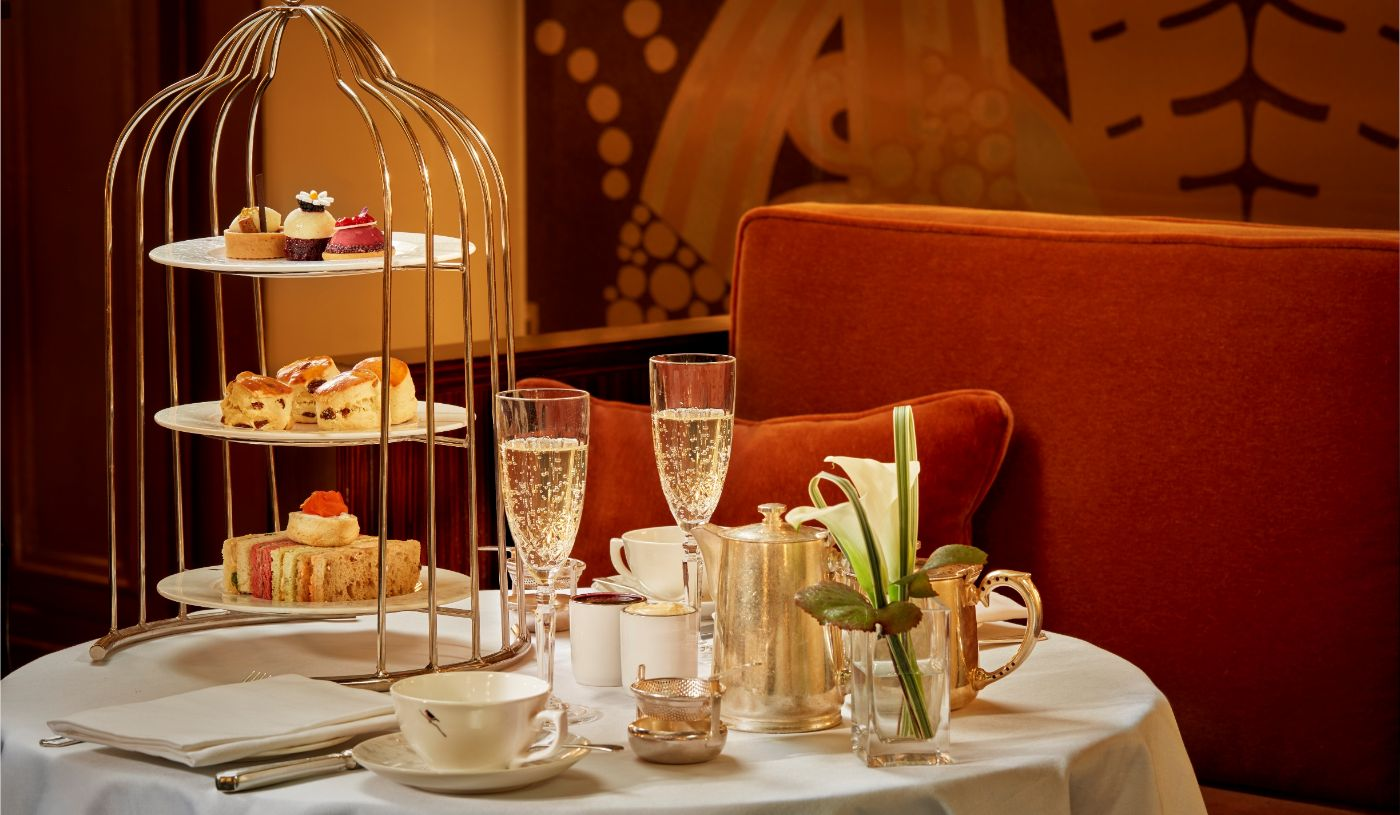 Free flowing afternoon tea in the Palm Court