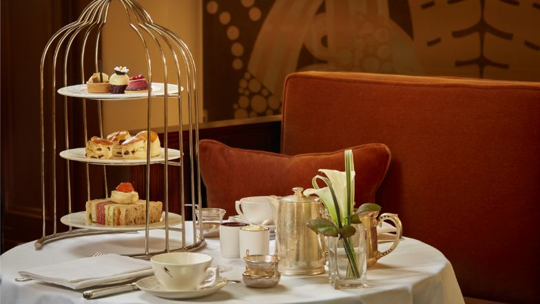 Afternoon tea in Mayfair