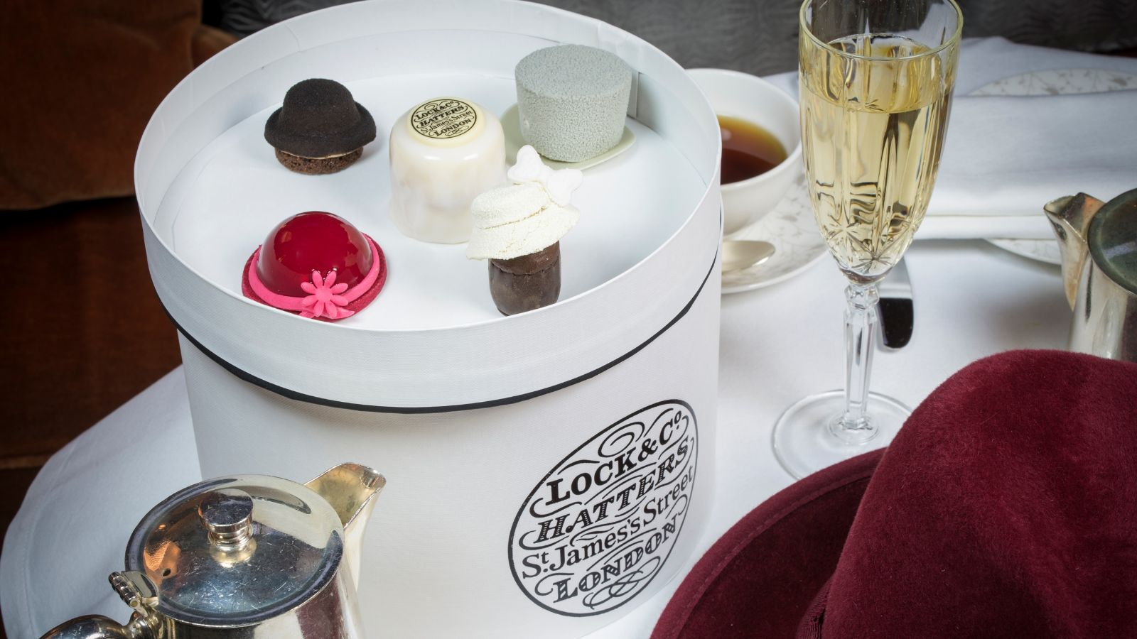 Lock & Co. Afternoon Tea at the Sheraton Grand London Park Lane