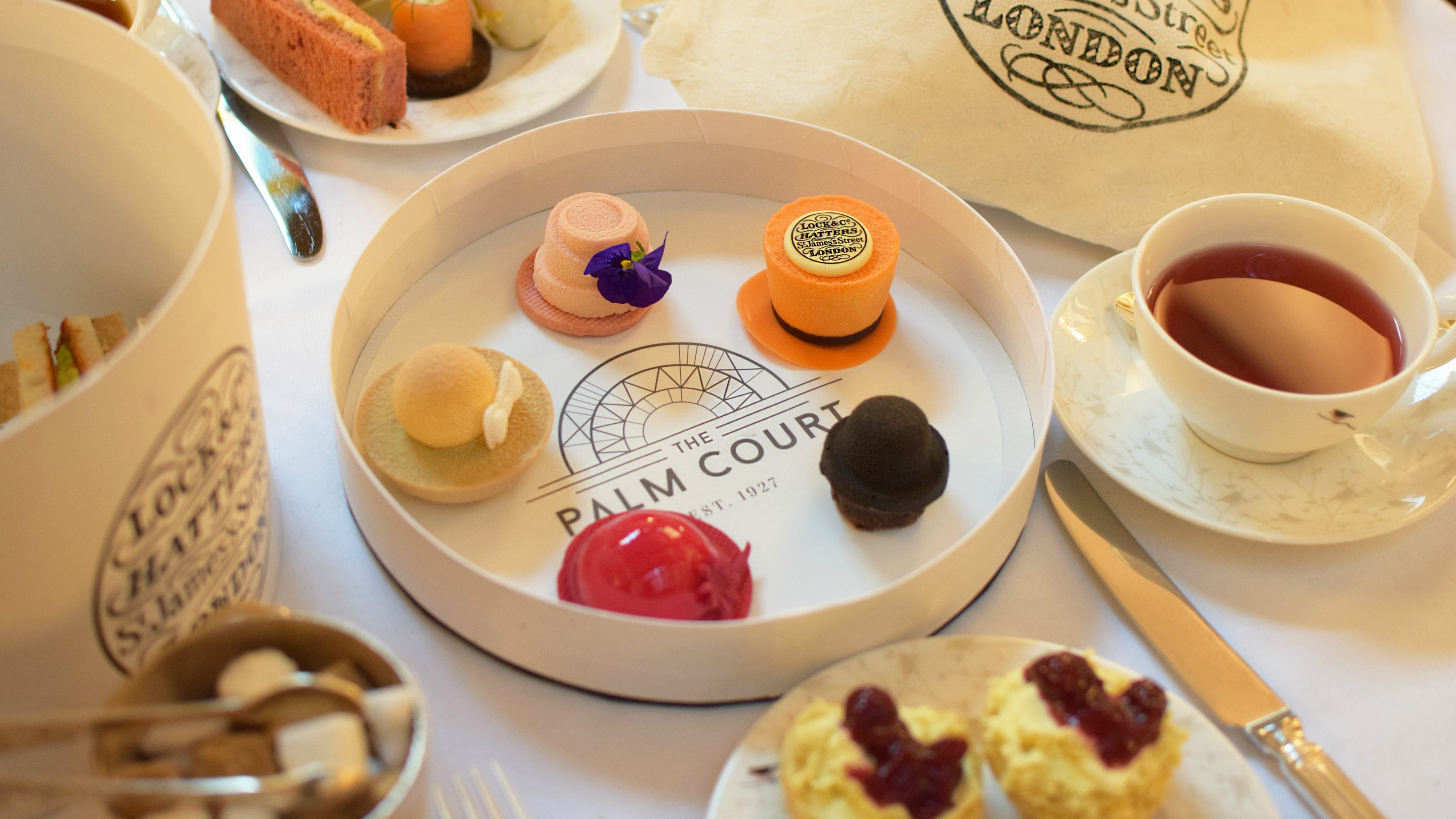 Lock & Co Afternoon Tea at the Sheraton Grand London Park Lane
